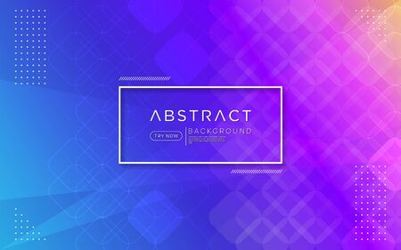 Modern gradient purple pink colorful background combine with abstract shape and element. Vector background design
