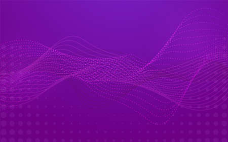 Modern geometry purple background design. Abstract background graphic template. Vector illustration