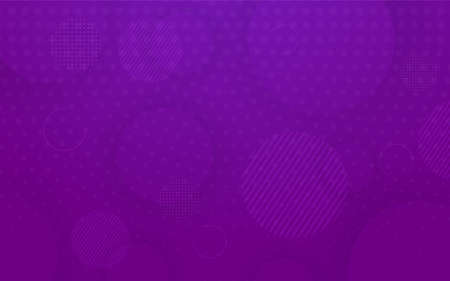 Modern geometry purple background design. Abstract background graphic template. Vector illustration Foto de archivo - 151346153