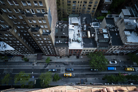 上からストリート ビュー 写真素材