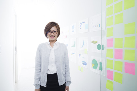 sticky: Asian woman wears glasses