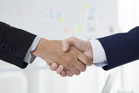 Business handshake Archivio Fotografico