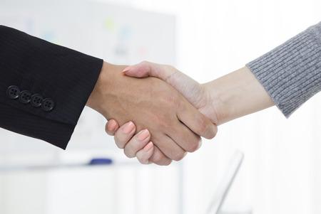 Business handshake 免版税图像