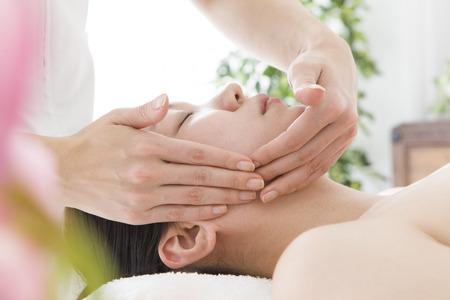Face massage for women