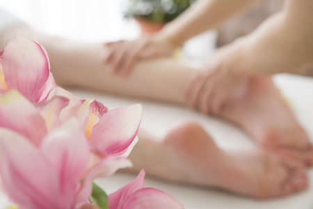 loosen up: Shops of foot massage