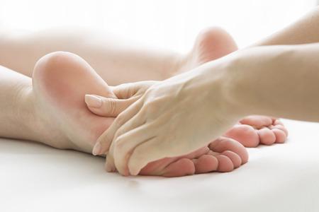 loosen up: Polite foot massage