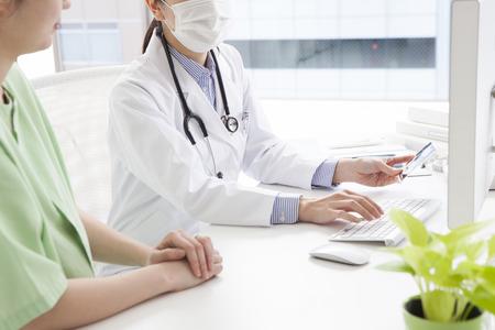 産科婦人科でのワンシーン