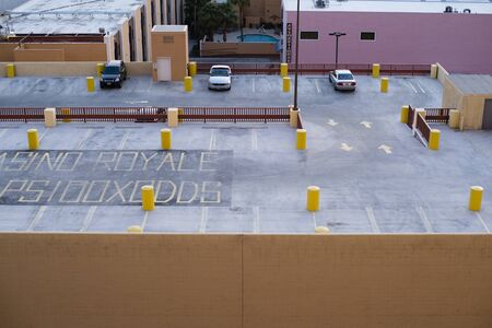 no parking: rooftop parking