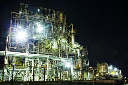 Night of factory