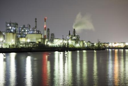 turbina de vapor: Fábrica de productos químicos y el buque