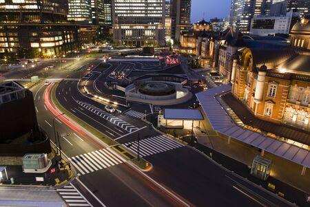 diversity of the region: Tokyo Station Stock Photo