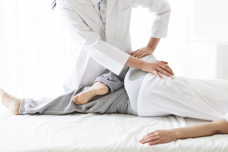 Kindness of people transmitted from the massage. Stock Photo