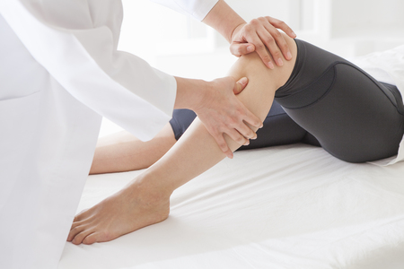 healthcare and medicine: Kindness of people transmitted from the massage. Stock Photo