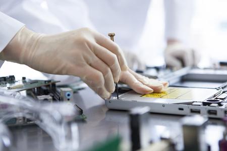 circuitos electronicos: Los estudiosos aprender el conocimiento de la máquina.
