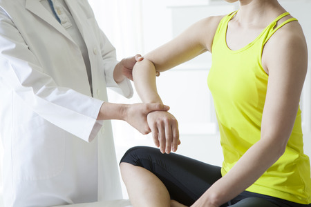 pain relief: Chiropractic, osteopathy, pain relief concept.