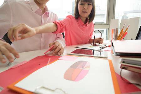 Designers to hold meetings on weekdays afternoon.
