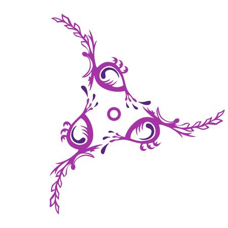 Swirl of identical itemsms