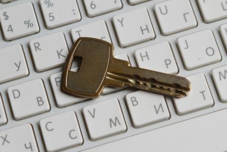 bug key: Lock on a keyboard of laptop