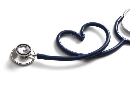 聴診器で心臓の形