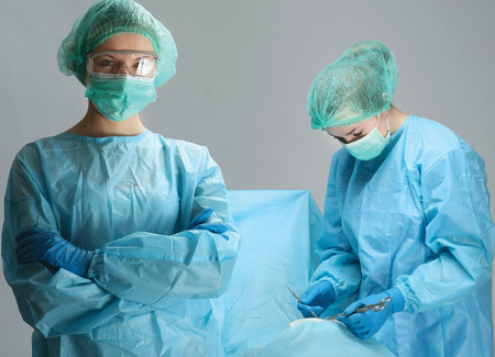 Operating a patient photo