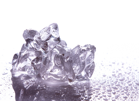 melting ice: melting ice
