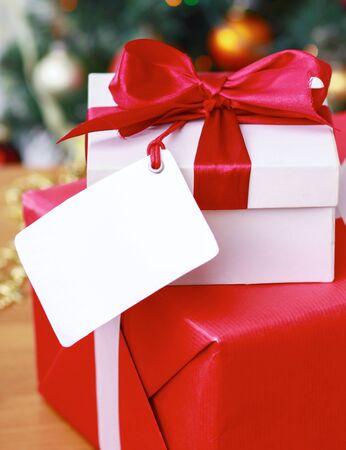 christmas gift: Christmas gift boxes.