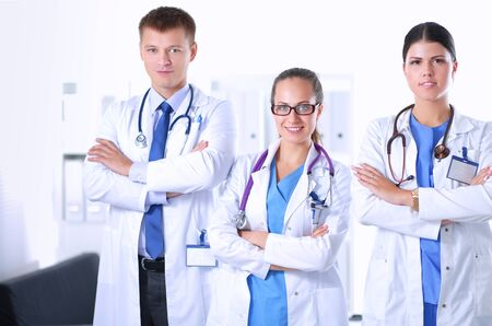 physiotherapists: Healthcare and medical - young team or group of doctors