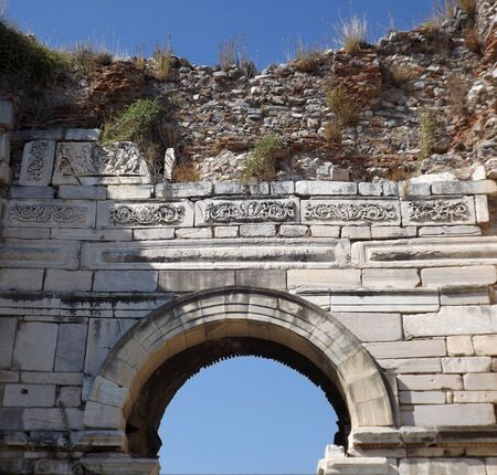 st  john: Basilica of St. John in Selcuk (Ephesus) Turkey Stock Photo