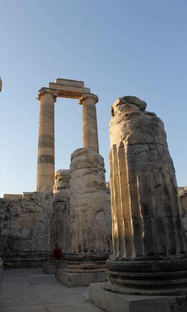apollo: Ruins ancient Temple of Apollo Didim Turkey