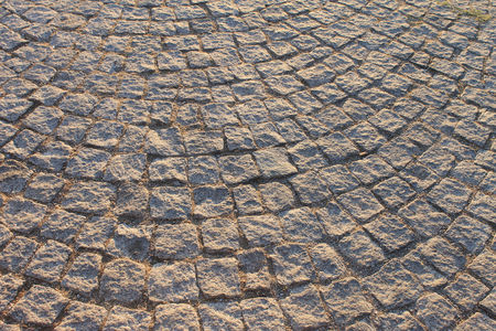 cobblestone road: Old cobblestone road