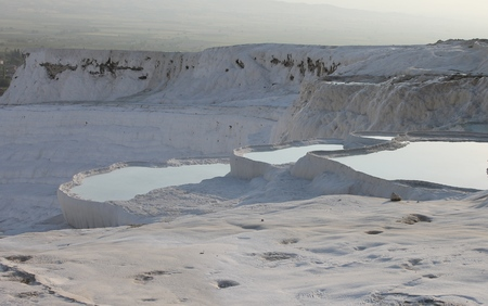 unesco: Pamukkale health resort and nature reserve in Turkey, UNESCO sites
