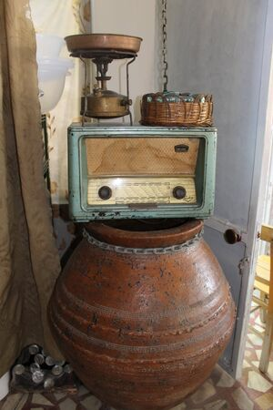 old items: Interior old Turkish village, antiques and rare items