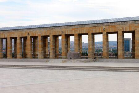 ataturk: Anitkabir mausoleum of Ataturk, Ankara, Turkey