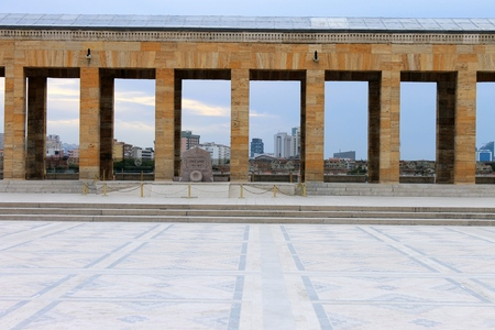 fames: Anitkabir mausoleum of Ataturk, Ankara, Turkey