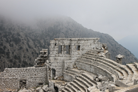 Termessos is an ancient city located in the southeast of the historical area of ??Pisidia