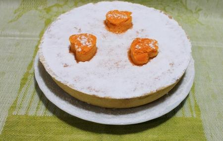 Pumpkin and shortcake cake classic American dessert