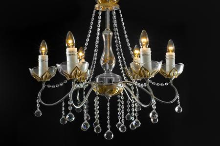 architectural lighting design: modern element of decoration chandelier lamp luxury fashion design