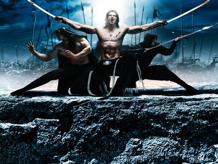 asian warrior: Photo fantasy battle ninja, super heroes, assassins