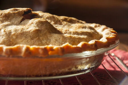 tantalizing: Pie on Cooling Rack