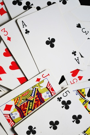 playing cards Stock Photo - 10931867