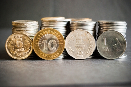 indian coins Stock Photo - 10926751