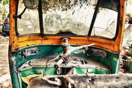 auto rickshaw: auto rickshaw Stock Photo