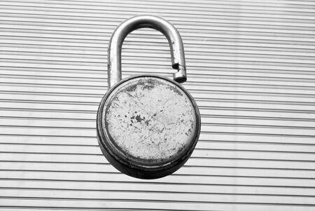 lock: metal lock
