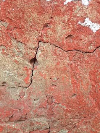 fissure: Crack sur le mur Banque d'images