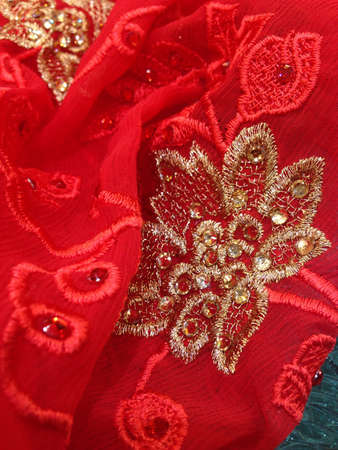 design: Saree design Stock Photo