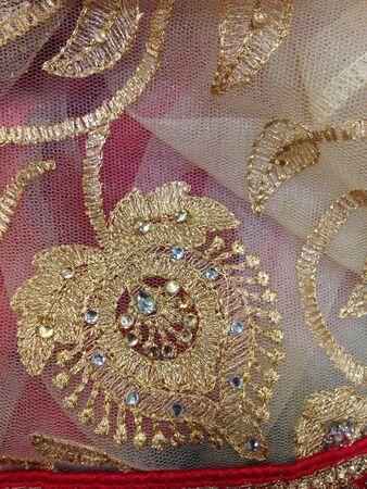 up: Saree design Stock Photo