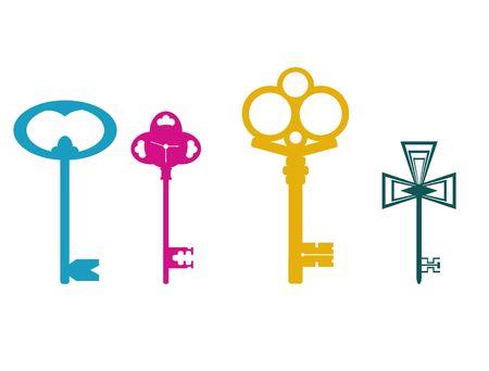 skeleton key: Keys