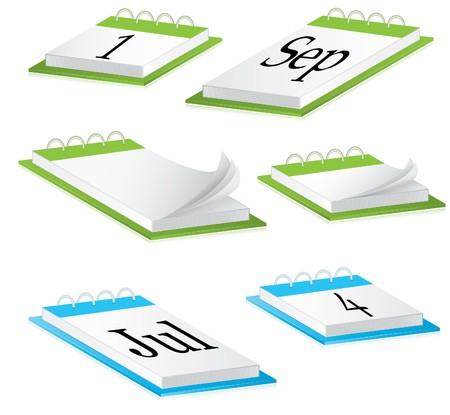 calendario da tavolo: Calendario di scrivania.
