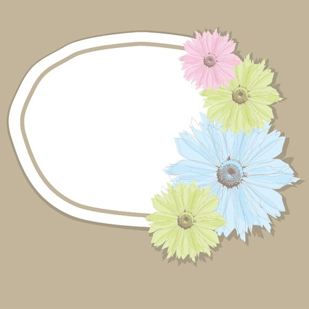 Flower banner. Stock Vector - 7547041