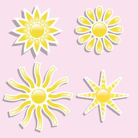 partly: Sun Illustration